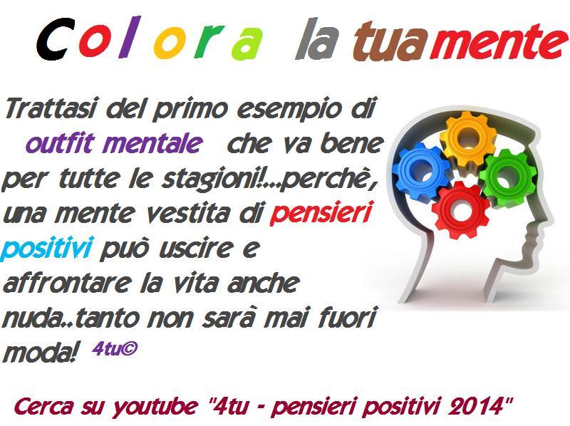 Popolare Colora la tua mente – pensieri positivi per il 2014 (video canzoni  FI63