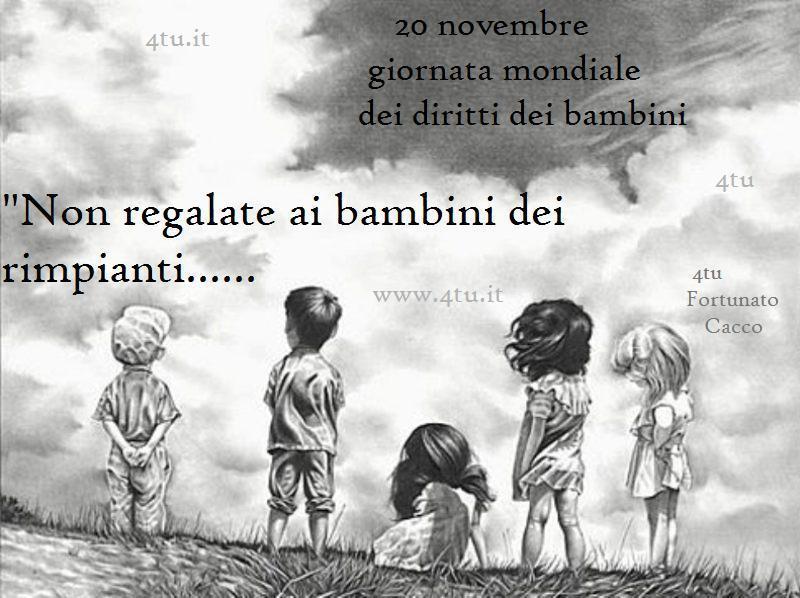 """Connu Repost: Giornata mondiale dei bambini : """"""""Non regalate ai bambini  IA96"""