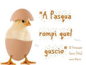 """canzone bellissima per fare gli auguri di buona pasqua : """"A Pasqua rompi quel guscio"""" parole & musica di 4tu©"""