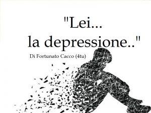 la depressione : come vincerla